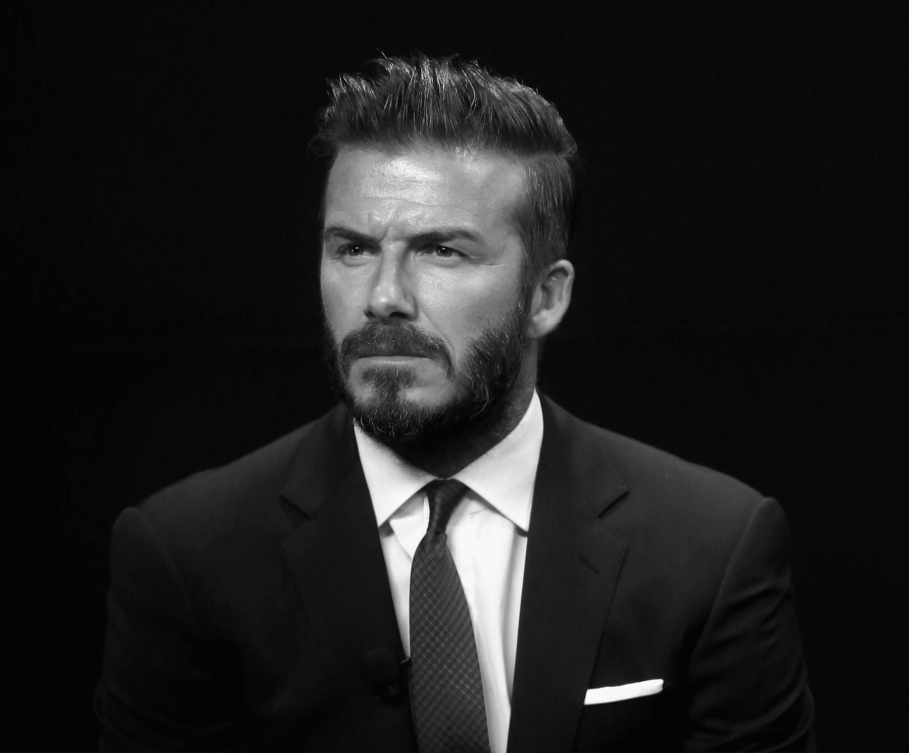 David Beckham At 40, A Digital Art Gallery